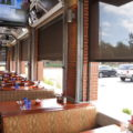 Oasis 2900 retractable insect screens restaurant